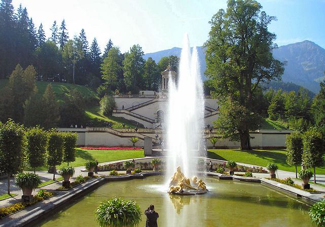 Fountains at Linderhof