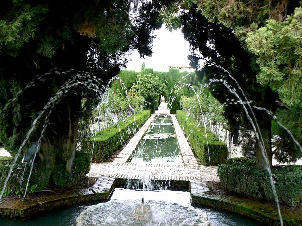 Fountains at the Generalife